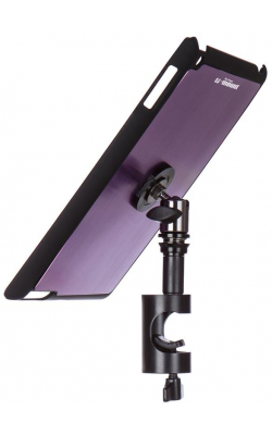 TCM9161P - iPad® Snap-On™ Cover w/ Round Clamp, Purple