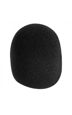 ASWS58-B - Foam Windscreen (Black)