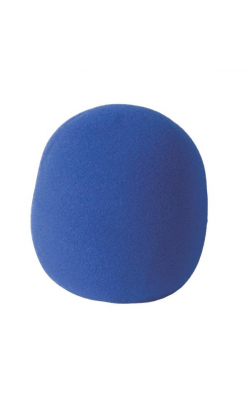 ASWS58-BL - Foam Windscreen, Blue