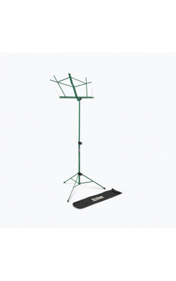 SM7122GRB - Compact Sheet Music Stand (Green, w/ Bag)