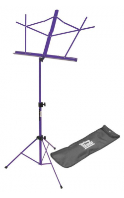 SM7122PB - Compact Sheet Music Stand (Purple, w/ Bag)