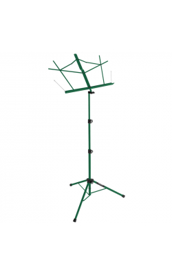 SM7222GRB - Tripod Base Sheet Music Stand (Green, w/ Bag)