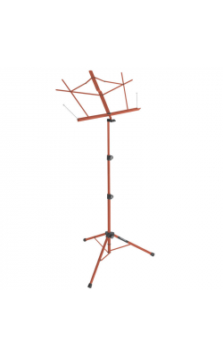 SM7222RB - Tripod Base Sheet Music Stand (Red, w/ Bag)