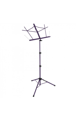 SM7222PB - Tripod Base Sheet Music Stand (Purple, w/ Bag)