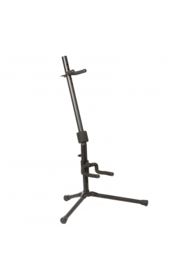 GS7141 - Push-Down Spring-Up Locking Acoustic Guitar Stand