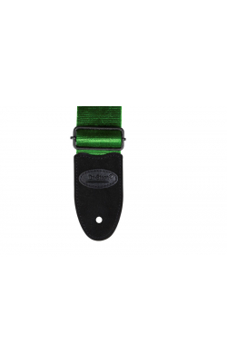 GSA20GE - Seatbelt Guitar Strap (Green)