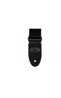 GSA20BK - Seatbelt Guitar Strap (Black)